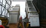 Trucks Unloading Chips